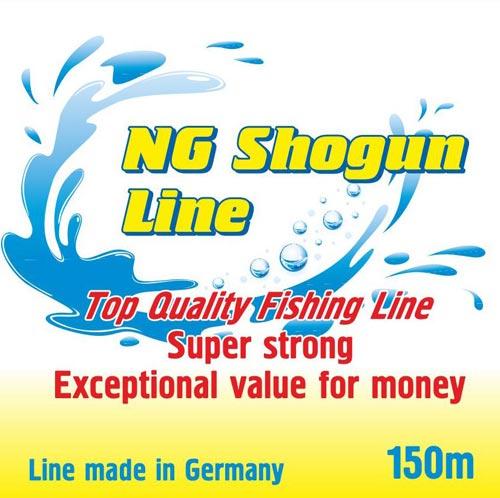 quality German manufatured  line from NG Floats. NG Shogun  Line 150m spools